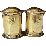 17th C Solid Silver Spice Box. Exremely Rare!