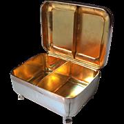 Superb 1791 Solid Silver Spice Box. Anton Meixner, Austria.