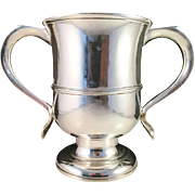 Extremely Rare 1768 Sterling Silver Two-handled Cup, Benjamin Cartwright London.