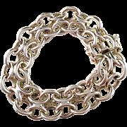 Victor Janson, Sweden 1973 Sterling Silver Bracelet. 1.55oz. Excellent