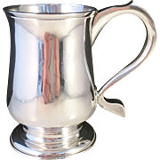 Antique 1778 Sterling Silver Mug Tankard. John Schofield, London. Excellent and very Rare.