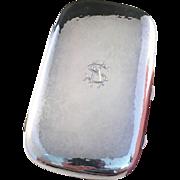 Royal Provenience, 8.2oz Solid SIlver Cheroot Cigarette Case. K Andersson, Stockholm 1920