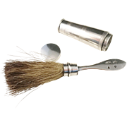 Year 1835, Johannes Linde, Stockholm. Antique Solid Silver Shaving Brush. Wow.