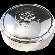 Georg Jensen, Denmark year 1920 Design no 79 Sterling Silver Pill box. Rare.