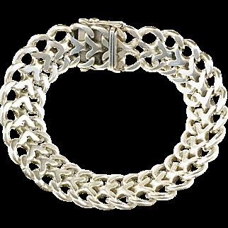 Jo-Ans, Sweden year 1976 Solid Silver Bracelet. 1.5oz. Excellent.
