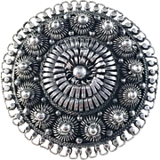 Extremely Rare David Andersen 1876-1888, Christiania (Oslo) Norway Pin Brooch.