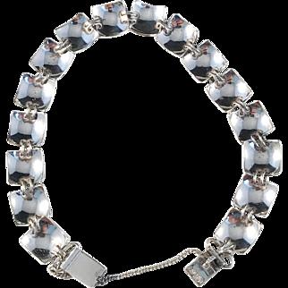 Ato Koru, Finland year 1969, Solid Silver Bracelet