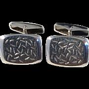 Stig Jarvinen, Finland year 1967 Solid Silver Cufflinks