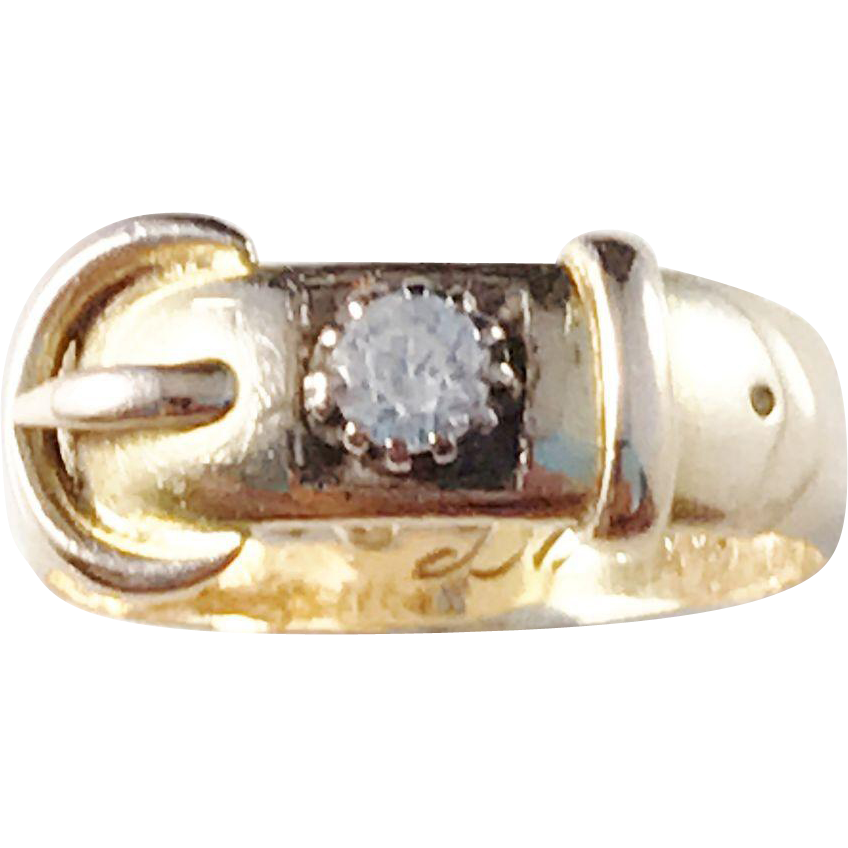 1893 birmingham victorian 18k gold paste stone ring from for Sell jewelry birmingham al