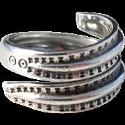 Vintage David Andersen, Oslo Norway Sterling Silver Viking Saga Ring 1960s