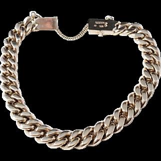Gustav Dahlgren, Sweden year 1949 Gold Washed Solid Silver Bracelet.