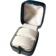 Tiffany & Co New York Art Deco 1930s Ring Box Jewelry Display