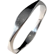Bjerring Brothers, Copenhagen 1961-76 Sterling Silver Bangle