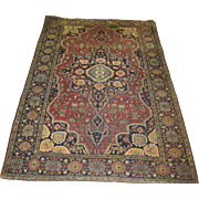 Persian Farahan Sarouk , ca. 1910, 4'5 x 6'10 Free shipping & appraisal