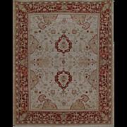 Extremely Fine Oushak Rug Size:  8.0 x 10.0