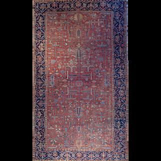 Large Serapi persian rug 9'4X13'10 circa 1910