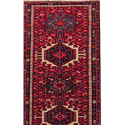 "Persian runner Karajeh 2'8""X9'6"" Early 20th Century"