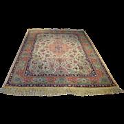 Antique Persian Tabriz Rug Size: 6.2 x 8.8