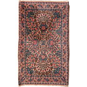 Persian Rug Lavar Kerman Design