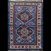 "Oriental Rug Shirvan circa 1880 2'9""X4'0"""