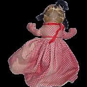Georgene Averill's Cloth Topsy Turvy Doll, 1940s