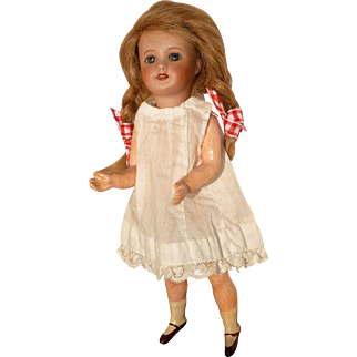 SFBJ Paris 301 8 In. Bisque Head Doll on Compo Body
