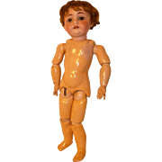 Kestner 143 Bisque Head Doll with Germany Marked Body, 12 Inch