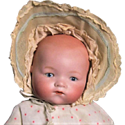 Baby Doll, Bisque Head 1920s German 341 Dream Baby, 12 Inch
