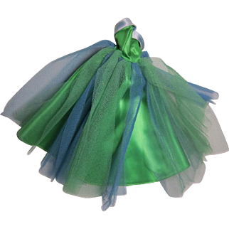 Barbie 1964 Senior Prom Gown, Green + Blue