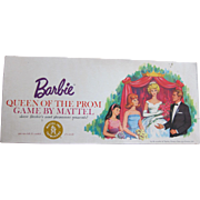 "Barbie Doll's Mattel Game ""Queen Of The Prom"", 1963 -- Complete"