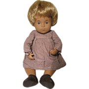 Sasha 501 Baby Sandy Honey Blonde Hair 12'' Vinyl Doll Made in England 1978-1980