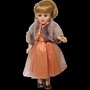 "Horsman Petite Cindy Fashion Doll 10"" Vinyl 1950's"