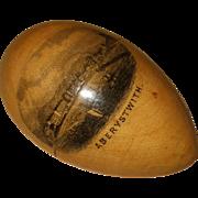 Charming Victorian Mauchline Egg Etui