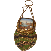 An Exceptional and Rare Early 19th Century 'Grand Tour' Memento Purse