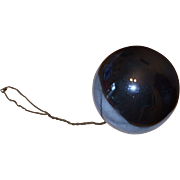 Victorian Blue Witch Ball
