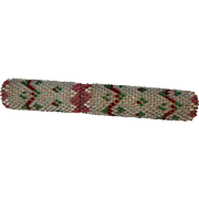 Good Quality Victorian Beaded Needle Case