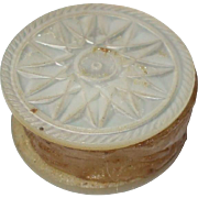 Sweet 19th century Mother of Pearl Waxer