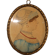 Early 19th Century Portrait Miniature of a Lady