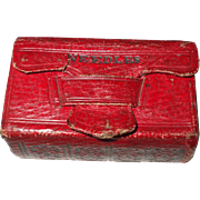 Delightful Book Form Early 19th Century Needle Case
