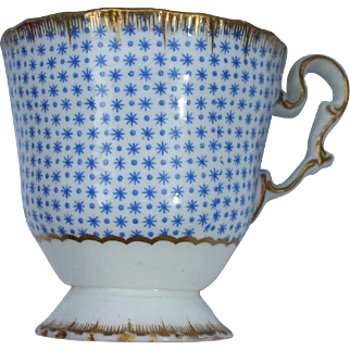 Fine Copeland & Garrett Patterned Cup Circa 1833 - 1847