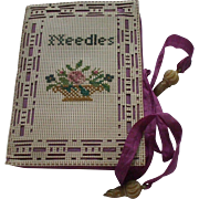 Charming Victorian Needle Case/Love Token