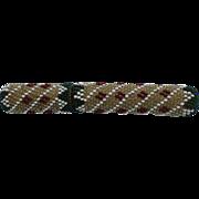 An Attractive 19th Century Beadwork Needle Case