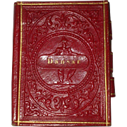 A Delightful 19th Century Ladies Programme Du Bal