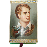 A Wonderful and Rare Lord Byron 19th Century Needle Case