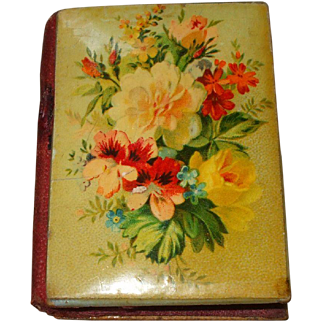 A Pretty Victorian Floral Needlecase