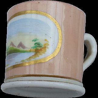 A Sweet Miniature Staffordshire Mug C1860