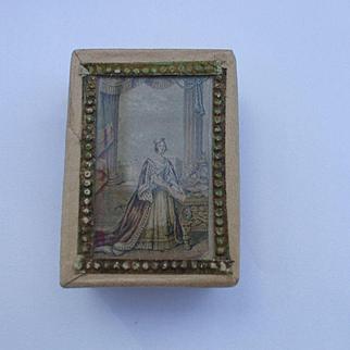 A Delightful Le Blond Needlepacket Box Circa 1850
