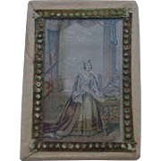 A Delightful Le Blond Needlepacket Box Circa 1850