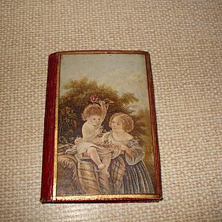 A Beautiful 19th Century Needle Case + Aide Memoire