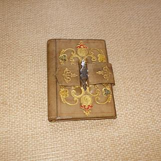 An Attractive and Useful Aide Memoir Pocket Book Circa 1850